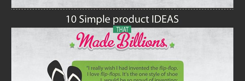10 Ideas that Made Billions