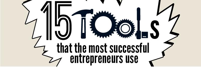15 Great Tools for Entrepreneurs