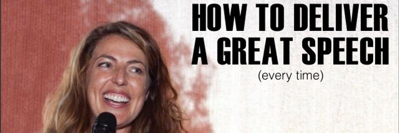 11 Keys to Making a Great Speech