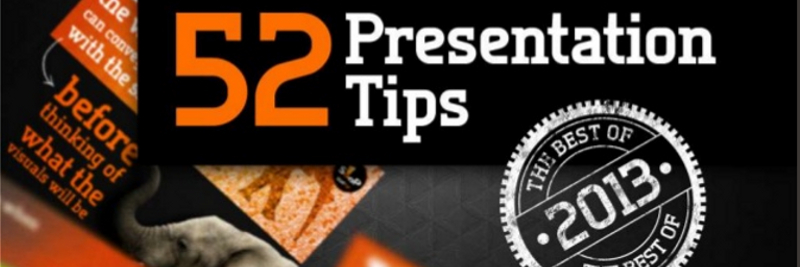 52 Effective Presentation Tips