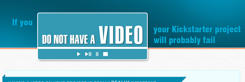 Why You Need a Video for Your Crowdfunding Campaign