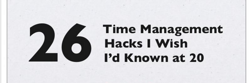 20+ Great Time Management Tips for Entrepreneurs