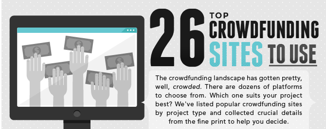 List of the Top 26 Crowdfunding Websites