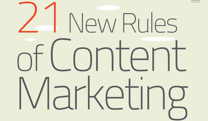 21 Great Content Marketing Tips