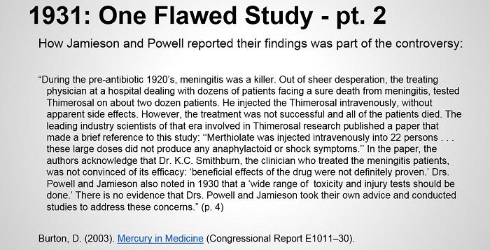 vac autism pt 4 1 flwed study pt 2