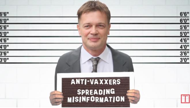 wake anti-vaxxers
