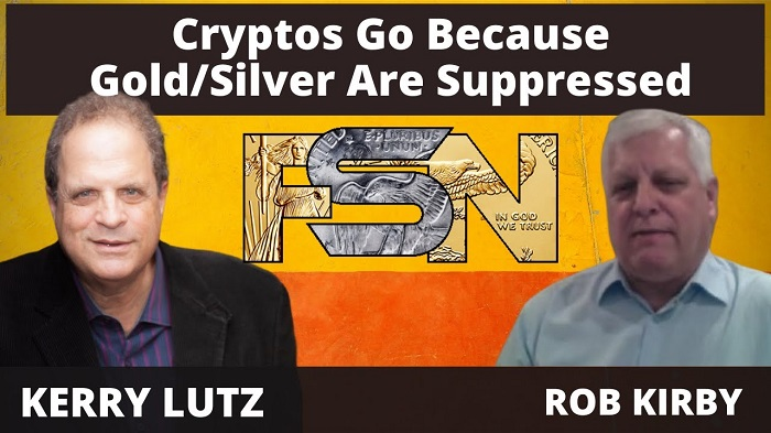 Crypto's Are Rising Because Gold & Silver Are Being Suppressed